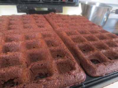 brownie waffles dn